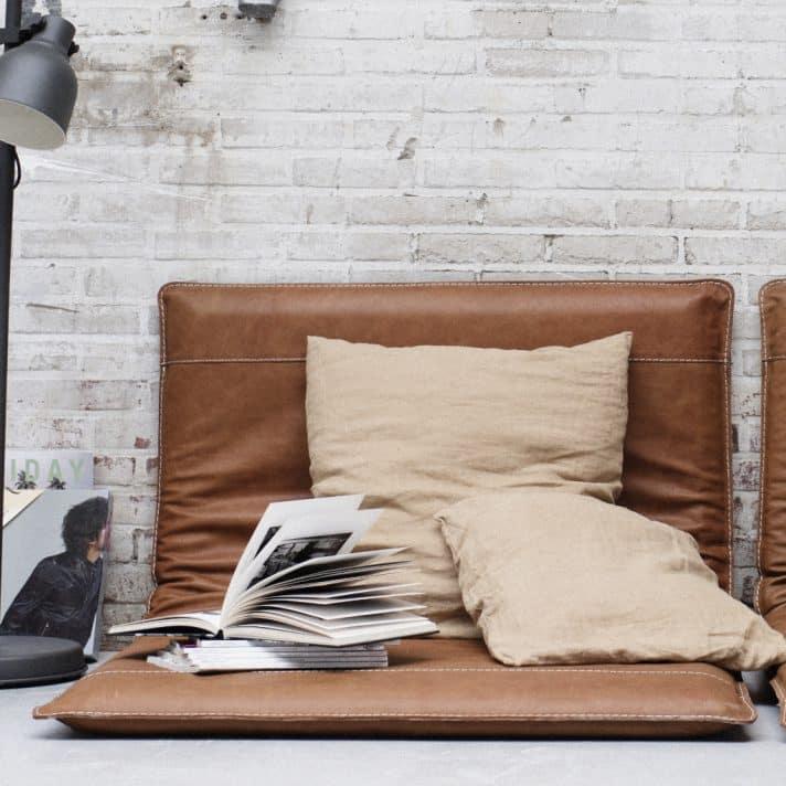 Leren loungematten